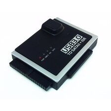 "USB 3.0 to SATA II + 3.5"" IDE and 2.5"" IDE Converter with Power Adapter"