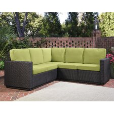 Riviera Sectional Sofa with Cushions