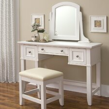 Naples Vanity Table in White