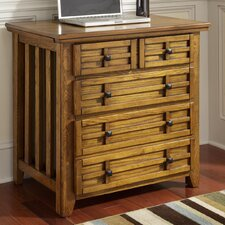 Arts and Crafts Expand-A-Desk Credenza with 2 Drawer