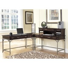 "Bordeaux Corner ""L"" Desk"