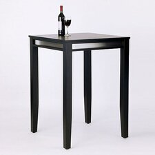 Manhattan Pub Table in Black