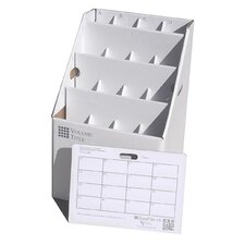 16 Slot Rolled Document Storage