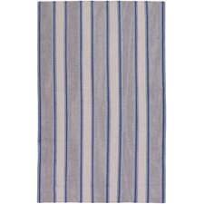 Farmhouse Stripes Navy/Blue Rug