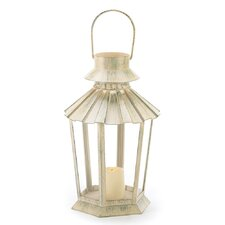 Weatherkissed Candle Lantern