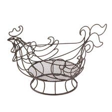 Rooster Wire Kitchen Basket