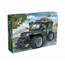 World Defence Force Military Jeep Block Set
