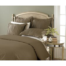 Pleated Satin Sham (Set of 2)