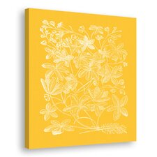 Floral Impression III Canvas Wall Art
