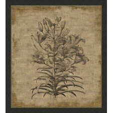 Flora on Linen VI Wall Art