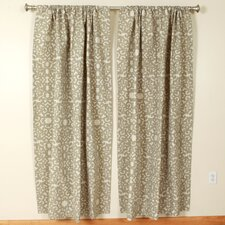 Cloud Rod Pocket Curtain Single Panel
