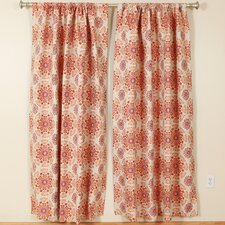 Kaleidoscope Rod Pocket Curtain Single Panel