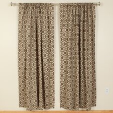 Nicole Kelp Laken Rod Pocket Curtain Single Panel