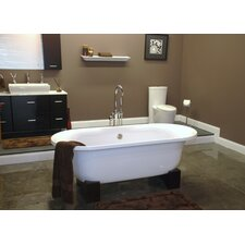 "70"" x 28"" Pedestal Bathtub"