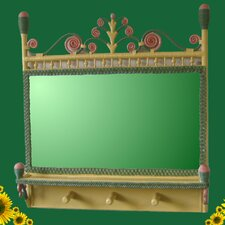 Victorian Coat Rack Mirror