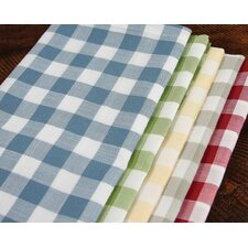 Gingham Check Tablecloth