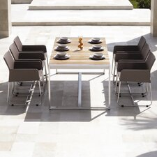 Zudu 7 Piece Dining Table Set