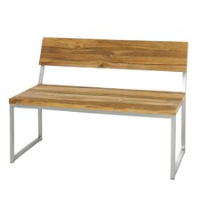 Oko Bench with Backrest