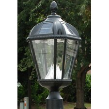 Royal 5 Light Solar Post Lantern