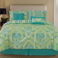 Palmetto Print Works 7 Piece Comforter Set