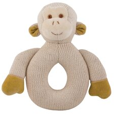 Nursery Monkey Knitted Teether
