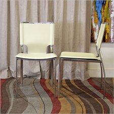 Baxton Studio Montclare Side Chair (Set of 2)