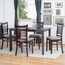 Baxton Studio Cathy 5 Piece Modern Dining Set