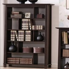 Baxton Studio Havana Tall Modern Bookcase in Brown