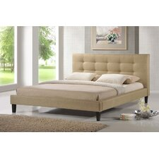 Baxton Studio Quincy Platform Bed