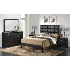 Baxton Studio Carolina Panel Bedroom Collection