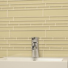 "Club 10-1/2"" x 9-1/2"" Cristezza Glass Tile in Beige"