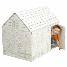 Hide and Seek Playhouse with Washable Markers