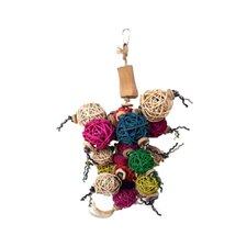 Java Wood Ball Thing Bird Toy
