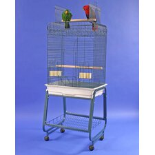 Play Top Bird Cage with Plastic Base