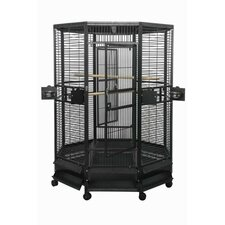 Large Octagon Bird Cage