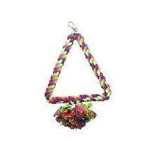 Multi Color Triangle Rope Swing