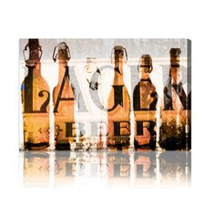 """Birra"" Canvas Art Print"