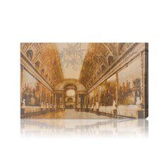 ''Gallery of Battles Versailles Yellow'' Canvas Wall Art