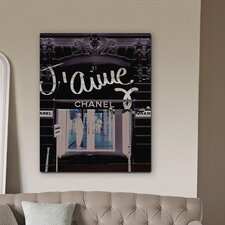 """31 Rue Cambon"" Canvas Art Print"