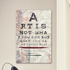 """Art is"" Canvas Art Print"