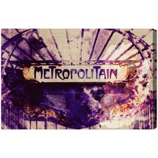 Metropolitain Canvas Art