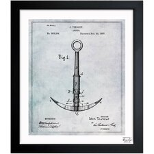 Anchor 1887 Framed Art