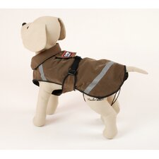 Birdwatcher Dog Coat in Brown