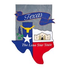 Texas 2-Sided Garden Flag