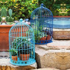 Bloom Birdcage Planter (Set of 2)