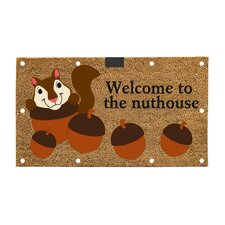 Welcome to the Nuthouse LED Mat