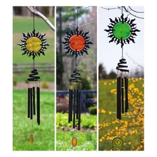 Sun Face Wind Chime (Set of 3)