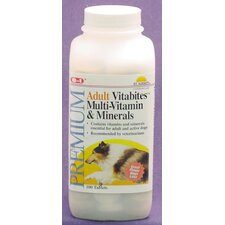 100 Count Adult Dog Multi-Vitamin and Minerals Dog Vitabites