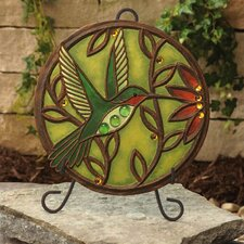 Jeweled Garden Hummingbird Stepping Stone