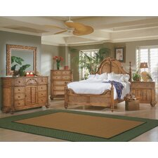 Epic  Progressive Furniture Inc Palm Court Low Poster Bedroom Collection